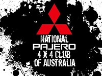 National Pajero 4x4 club Australia