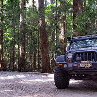 Photo of a Jeep Wrangler 2.8 CRD 2008 off-roading