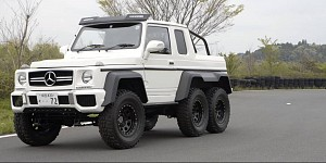 How to make your own Mercedes AMG 6x6