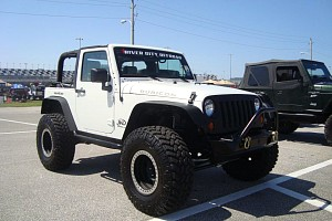 Picture of a Jeep Wrangler Sport 2012