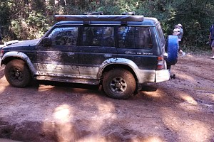 Picture of a Mitsubishi Pajero Nj v6 3000 sohc 1995