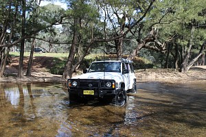 Picture of a Nissan Patrol GQII RD28T 2004