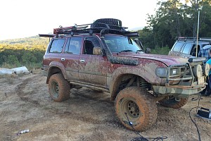 Picture of a Toyota Land Cruiser 80 Wagon 1991