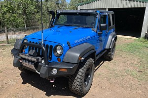 Picture of a Jeep Wrangler Rubicon 2011