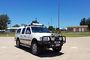 Picture of a Holden Rodeo Sports 3.2L Petrol Dual Cab 2002