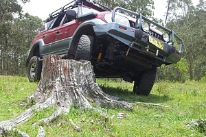 Picture of a Toyota Land Cruiser 1998 prado  1998