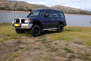 Picture of a Mitsubishi Pajero Nl 2.8 turbo desiel 1998