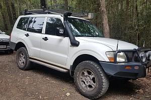 Picture of a Mitsubishi Pajero  2004
