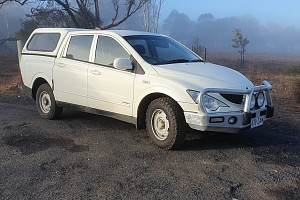 Picture of a Ssangyong Not_listed Actyon Sports Q100