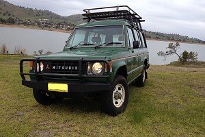 Picture of a Mitsubishi Pajero Na 2.6  1984