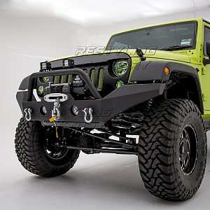 Picture of JW0292 Style Steel Front Winch Bull Bar