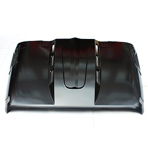 Picture of Avenger Style Steel Bonnet Front Hood Heat Reduction
