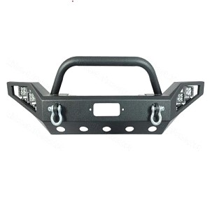 Picture of JW0308 Style Steel Front Winch Bull Bar with LED lights