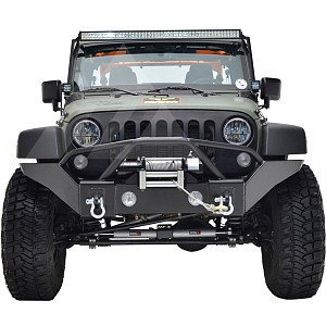 Picture of JW0350 Style Steel Front Winch Bull Bar