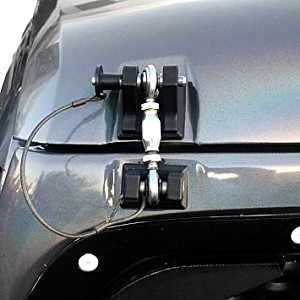 Picture of Black Color Retro Style Bonnet lock Catch Kit