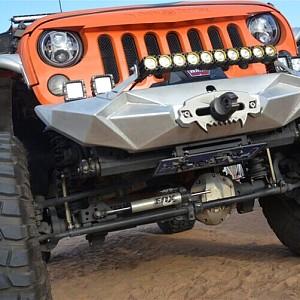 Picture of Aggressive Front Bumper Material: Aluminium
