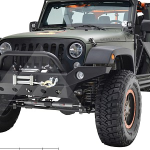 Picture of JW0294 Style Steel Front Winch Bull Bar
