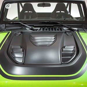 Picture of Tailcat Style Steel Bonnet with Three Vents