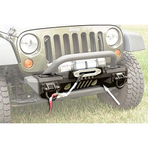 Picture of Rugged Ridge Front XHD Aluminum Winch Bumper