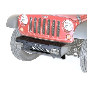 Picture of Rugged Ridge Front XHD Aluminum Bumper, Powder Coated - Black