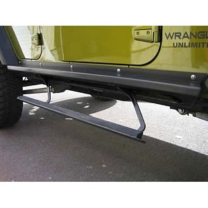 Picture of Rock Slide Step Sliders - Black Textured Powder Coat