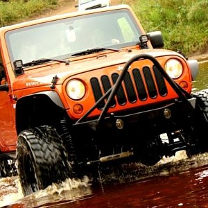 Picture of JW0325 Poison Spyder Style Steel Front Winch Bull Bar