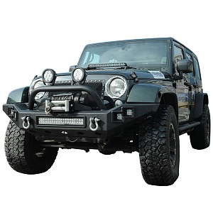 Picture of JW0303 Style Steel Front Winch Bull Bar