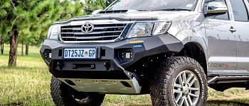 Photo of a Hilux Revo Rival Bumper