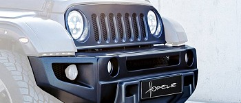 Photo of a Hofele Evolution Front Bumper