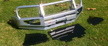 Photo of a ARB Deluxe Winchbar
