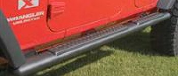 Photo of a 2 Door Aluminium Rock Sliders Running Board Side Steps