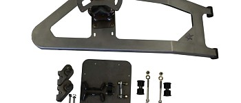 Photo of a Body Mounted Tire Carrier (Supports Up To 40 Inch Tire)