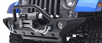 Photo of a JW0265 Style Steel Front Winch Bull Bar