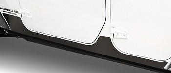 Photo of a JK Wrangler 4 Door Rocker Guard