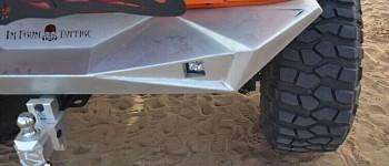 Photo of a Aggressive Rear Bumper Material: Steel