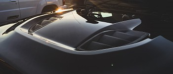 Photo of a 10th Anniversary Style Steel Bonnet Front Hood