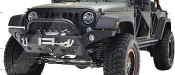Photo of a JW0294 Style Steel Front Winch Bull Bar