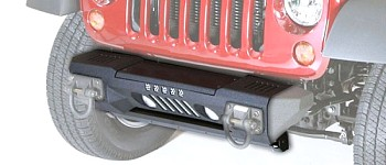 Photo of a Rugged Ridge Front XHD Aluminum Bumper, Powder Coated - Black