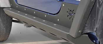 Photo of a 2 Door Brawler Rock Sliders Running Board Side Steps