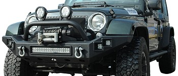 Photo of a JW0303 Style Steel Front Winch Bull Bar