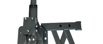 Photo of a Tubular Style Rear Spare Wheel Carrier