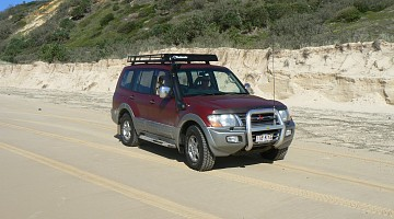 Picture of a Mitsubishi Pajero NM V6 Exceed 2002