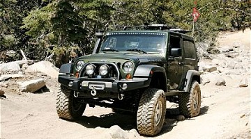 Picture of a Jeep Wrangler 2.8 CRD Automatic 2008
