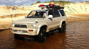 Picture of a Toyota 4Runner  1996