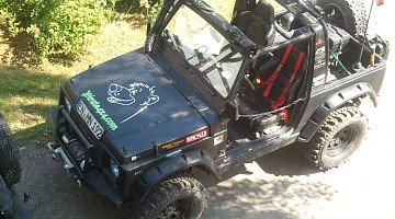 Picture of a Suzuki SJ 413 Baloo edition 1988