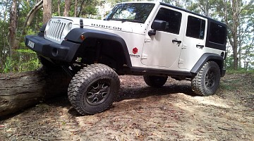 Picture of a Jeep Wrangler Unlimited Rubicon 2013
