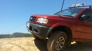 Picture of a Holden Frontera  1999
