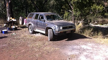 Picture of a Toyota 4Runner Toyota Surf LN130 2.4 tdi  1992
