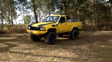 Picture of a Toyota 4Runner VN V6 1985
