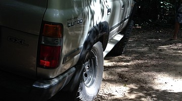 Picture of a Toyota Land Cruiser 80 Wagon 1990